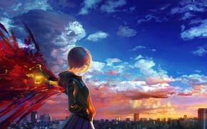 anime, Tokyo Ghoul, Kirishima Touka