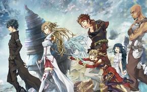 anime, Sword Art Online, Kirigaya Kazuto