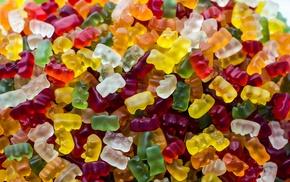 gummy bears, food, sweets