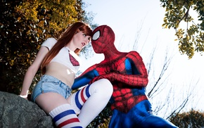 Spider, Man, Mary Jane Watson, cosplay