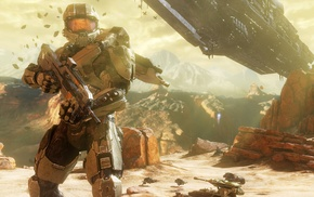 Master Chief, video games, military, soldier, Halo 4