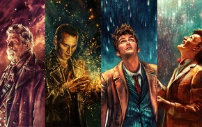 Tenth Doctor, Ninth Doctor, War Doctor, The Doctor, Doctor Who, Eleventh Doctor