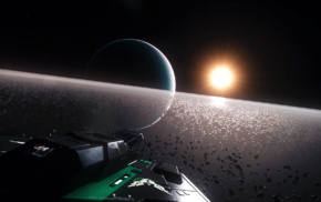 video games, science fiction, Elite Dangerous, space