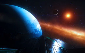science fiction, space, video games, Elite Dangerous