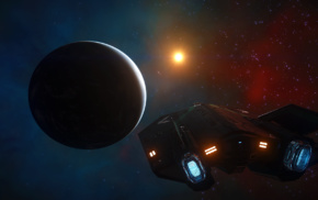 science fiction, Elite Dangerous, space, video games