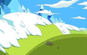 animation backgrounds, Adventure Time