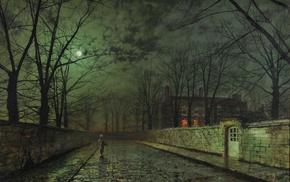 John Atkinson Grimshaw, painting