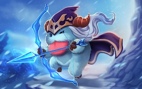 Ashe, Poro, League of Legends