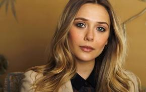 dyed hair, Elizabeth Olsen, girl, actress, celebrity