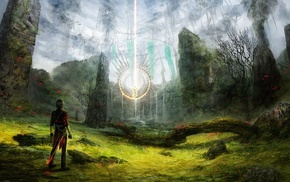 circle, magic, fantasy art
