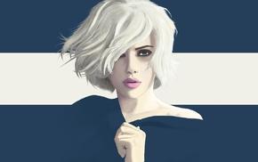 Scarlett Johansson, vectors, Vexel, Yuschaf