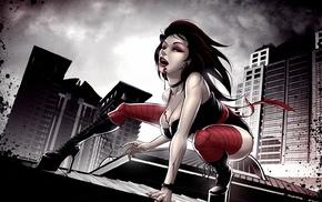 artwork, vampires, fantasy art