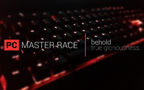 Master Race, keyboards, computer