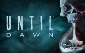 Until Dawn, computer game, skull