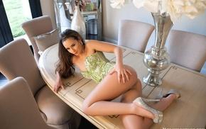legs, ass, small panties, Kylie Cupcake, heels, corsets