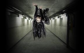 artwork, upside down, girl
