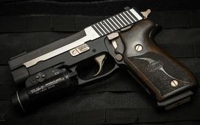 pistol, gun, SIG Sauer P220, SIG Sauer
