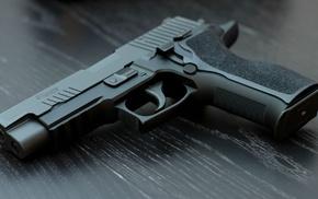 gun, pistol, SIG Sauer