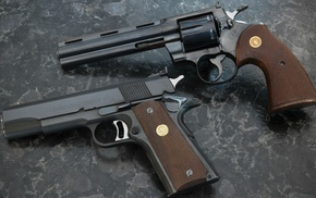 Colt, gun, pistol, M1911
