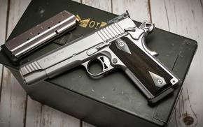 pistol, SIG Sauer, gun, M1911