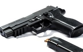 gun, pistol, SIG Sauer P226, SIG Sauer