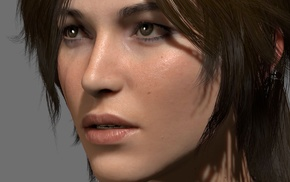 Tomb Raider, Lara Croft, face, girl, video games, Rise of the Tomb Raider