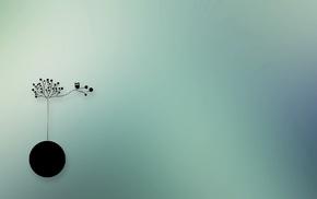 owl, minimalism, artwork