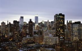 cityscape, USA, city, skyscraper, New York City