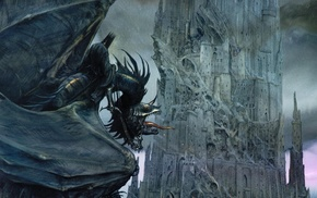 Barad, dr, tongues, Witchking of Angmar, Nazgl, castle