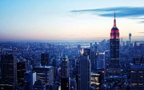 New York City, Empire State Building, Manhattan, building, urban exploration