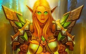 girl, Blood Elf, PC gaming, World of Warcraft