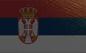 flag, Serbian flag, Serbia