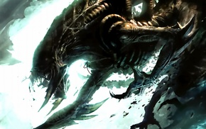 aliens, Xenomorph, artwork
