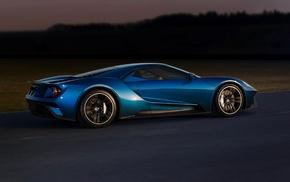race tracks, Ford GT, car