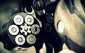 gun, ammunition, revolver
