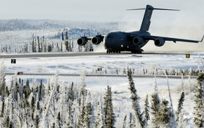 military, military aircraft, Canada, airplane, Boeing C, 17 Globemaster III