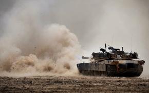 M1 Abrams, USMC, tank, military