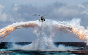 military, helicopters, military aircraft, Sikorsky CH, 124 Sea King, aircraft