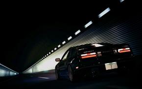 road, Nissan 300ZX, car, Gran Turismo 5, tunnel, video games