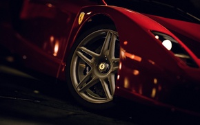 tires, Gran Turismo 5, car, rims, Ferrari Enzo, video games