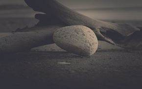filter, blurred, nature, monochrome, dark, stones