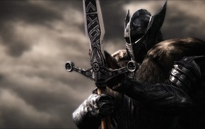 warrior, knights, The Elder Scrolls V Skyrim, armor, knight, helmet