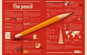 history, text, pens, pencils