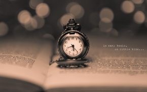 books, text, numbers, watch, sepia, pocket watch