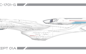 simple background, Star Trek, multiple display, USS Enterprise spaceship