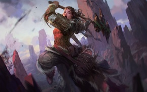 Magic The Gathering, warrior, fantasy art
