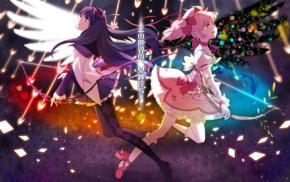 Mahou Shoujo Madoka Magica, Kaname Madoka, Akemi Homura