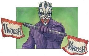 Joker, Darth Maul, Star Wars