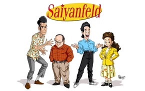crossover, Seinfeld, Dragon Ball Z