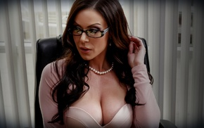 Kendra Lust, pornstar, glasses